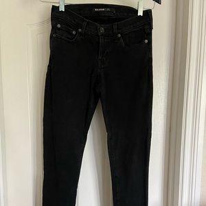 Big Star skinny jean in faded black